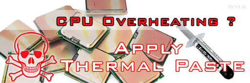 CPU Overheating Apply best Thermal paste on Heat Sink & how to Prevent CPU Overheating windows 8 BIOS launch  arctic silver vs thermal compound paste sink cooler   image