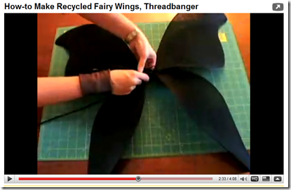 recycled fairy wings