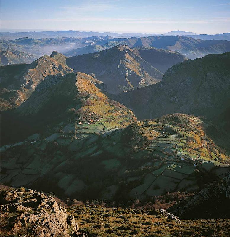 Vista desde el Mirador de las Capillas del Monsacro