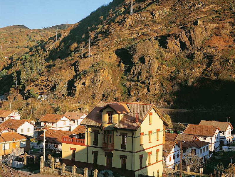 Poblado minero de Bustiello (Mieres)