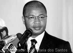 Jose Maria dos Santos governador de Luanda