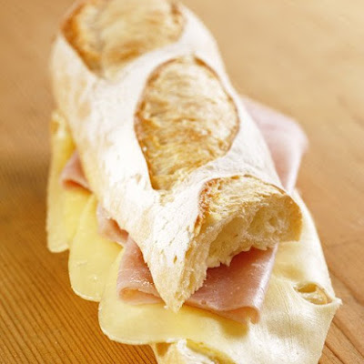 Ham-and-Cheese Baguette