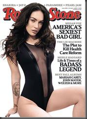 Megan Fox na Rolling Stone