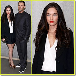 megan-fox-armani-fashion-show-brian-austin-green