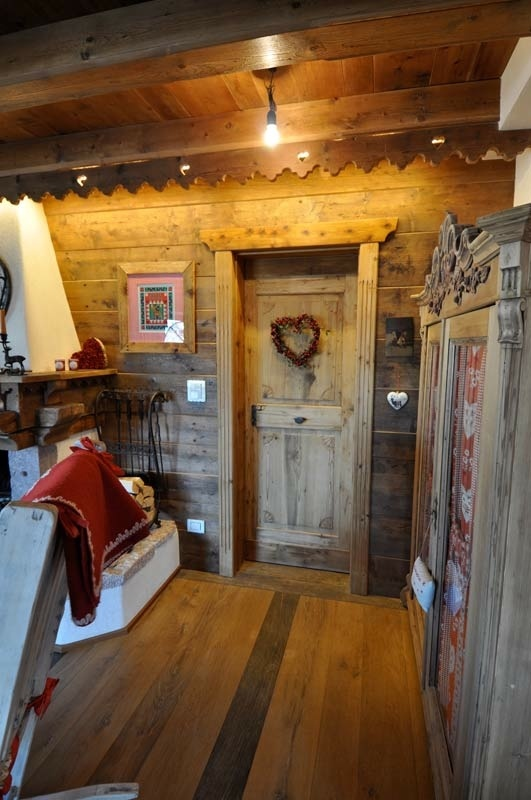 Squarciomomo la casa delle favole di montagna for Interni di baite