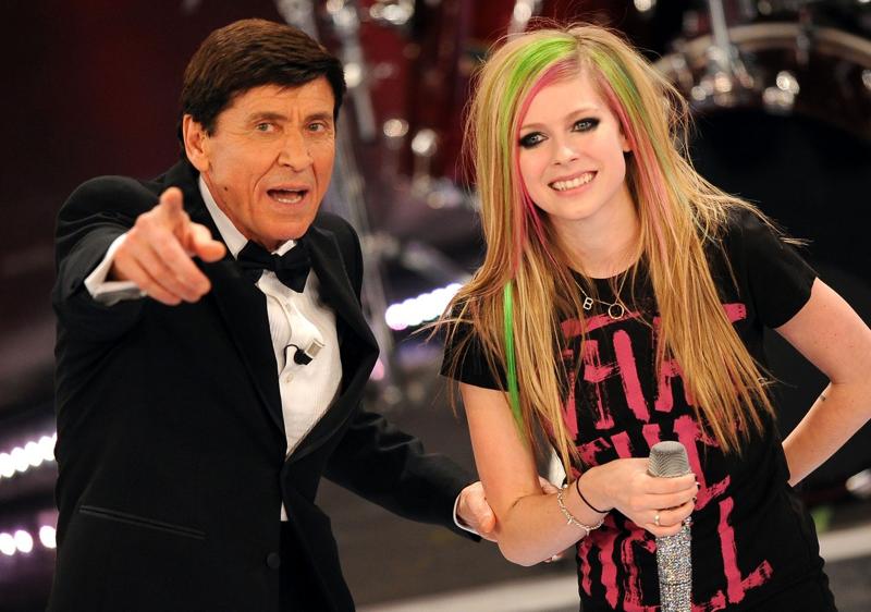 Avril Lavigne Sanremo