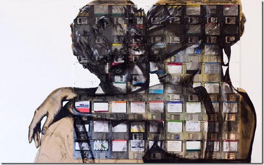Arte com disquetes more freak show blog (8)