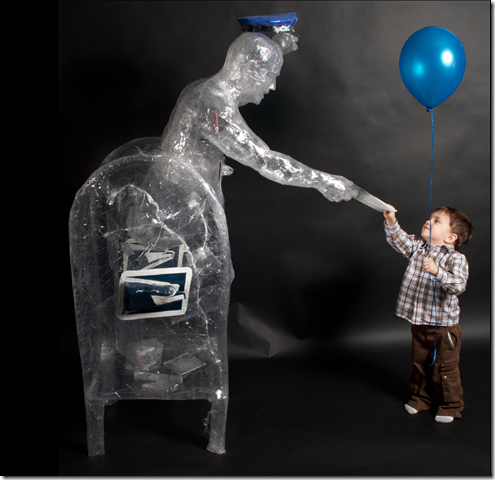 Esculturas de plástico (9)