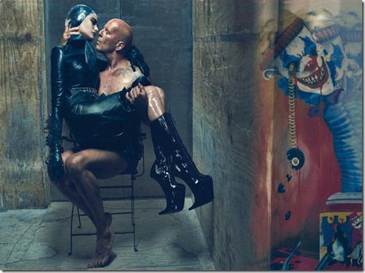 Bruce & Emma Willis for W Magazine 7