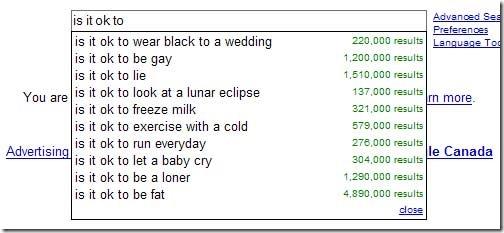 estranhas sugestões de Pesquisa do Google 12