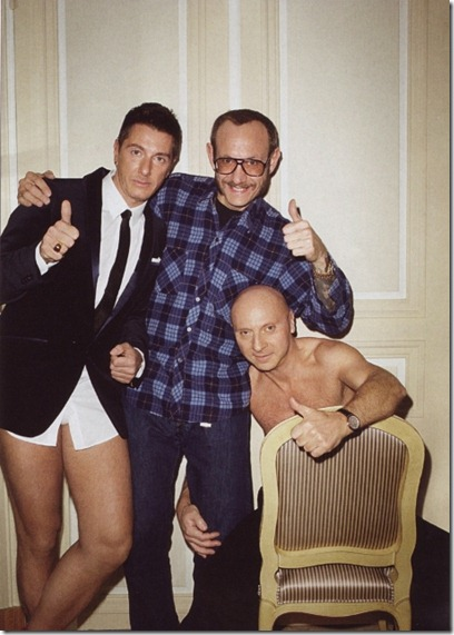 Domenico Dolce Stefano Gabbana by Terry Richardson for GQ Italy Jun 2009 5