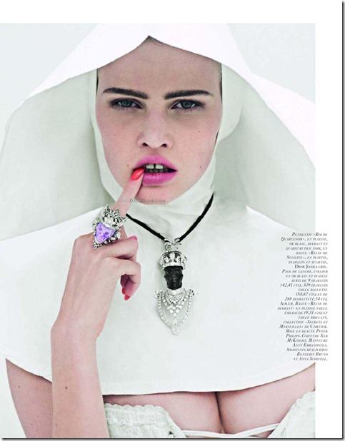 La Tentation du Diamant with Lara stone by Cedric Buchet for Vogue Paris 4