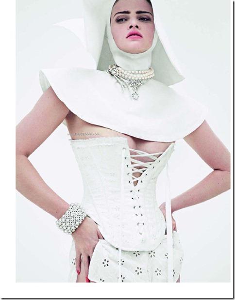 La Tentation du Diamant with Lara stone by Cedric Buchet for Vogue Paris 6