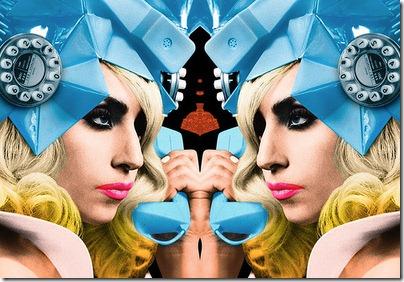 lady gaga e beyonce telephone imagem hq more freak show blog 9