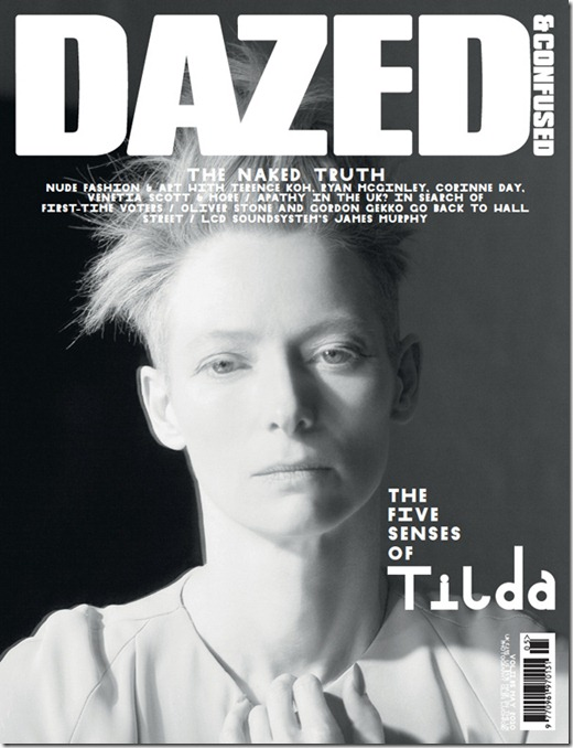 tilda cover dazed e confused magazina more freak show blog (2)