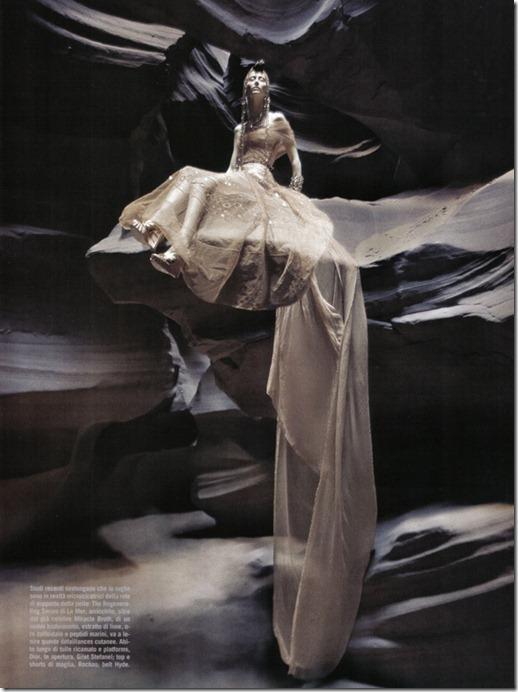 Vogue Italia beauty editorial arte, more freak show blog (4)