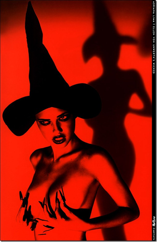 Adriana Lima livro Wicked by Ellen Von Unwerth  (9)