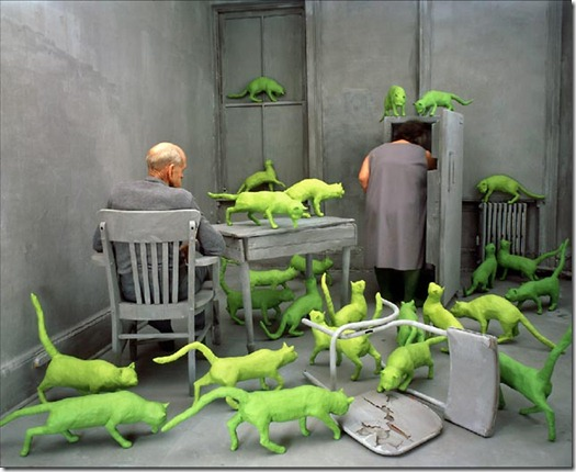 A arte de Sandy Skoglund (more freak show blog) (2)