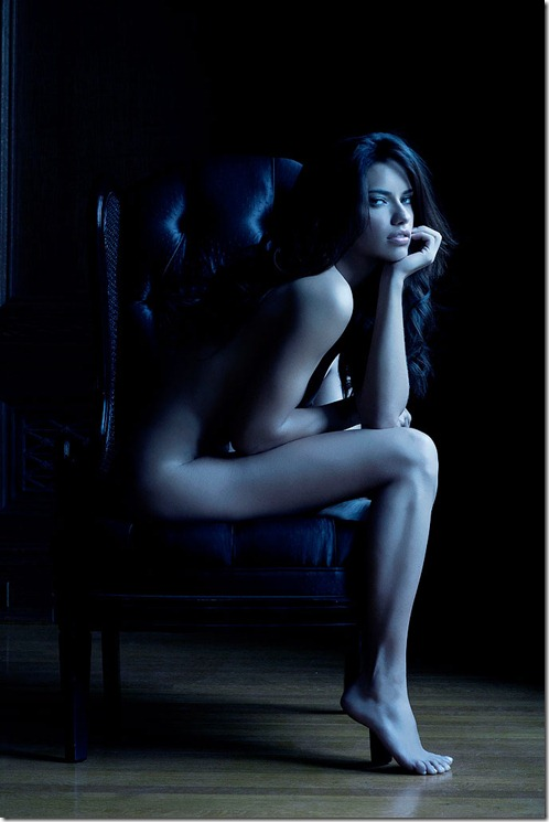 Adriana Lima de Langerie  Photoshoot Victoria Secrets (14)