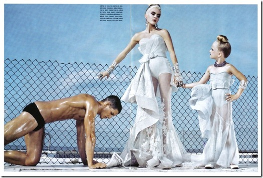 The Honourable Daphne Guinness Vogue Italia  (3) Steven Klein Fotos Hq
