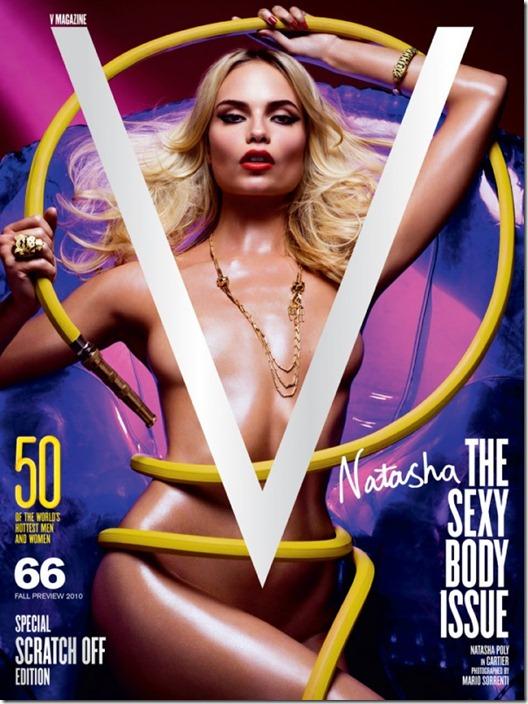 V magazine cover   The Sexy Body Issue1 sabeli Fontana, Adriana Lima, Lily Donaldson, Eniko Mihalik e Natasha Poly  (5)