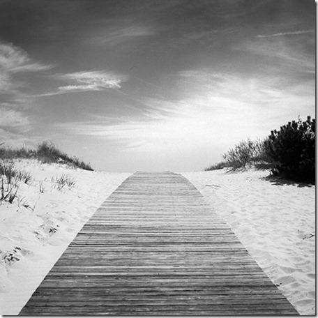 beach, boardwalk, clouds, horizon, sand, summer