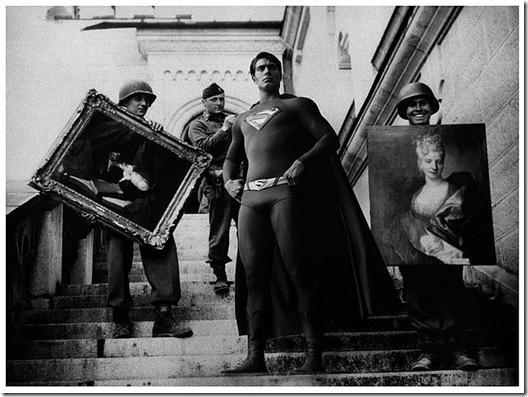 Super Hérois inseridos em foto de Contexto Histórico  (2)