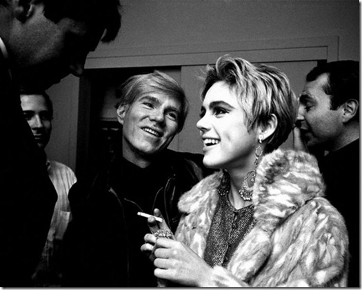 Andy Warhol e sua IT Girl Edie Sedgwick