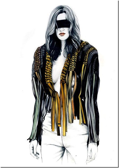 Fashion Ilustração  Caroline Andrieu  Portfólio (10)