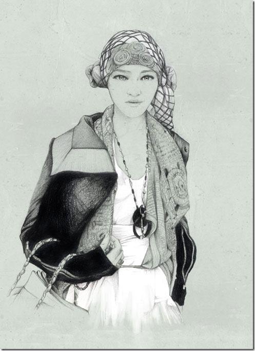 Fashion Ilustração  Caroline Andrieu  Portfólio (16)
