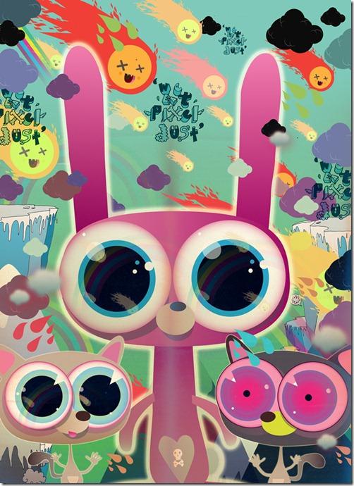 Poked estudio de art design gráfico 3d ilustração animação (5)