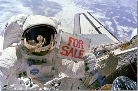 nasa terra a venda