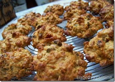 cookies au granola 2