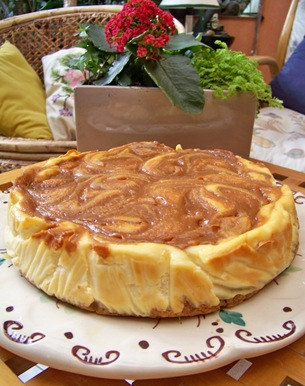 cheese cake caramel 1