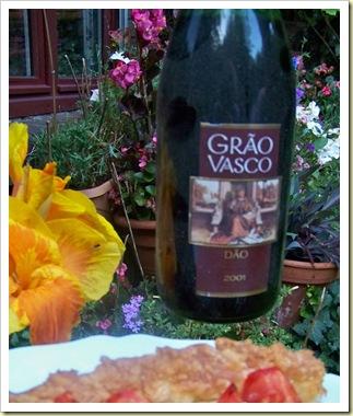 tarte tomate anchois chevre vin