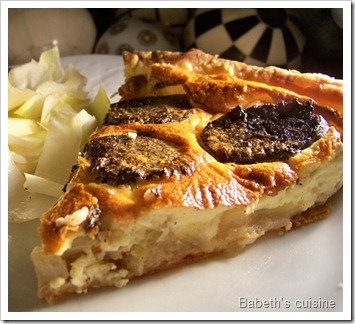 tarte boudin pommes oignons 2