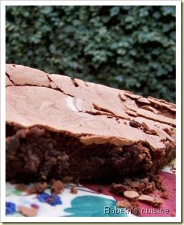 gâteau choco sans beurre