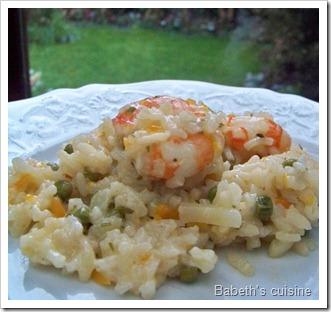 risotto aux crevettes 2
