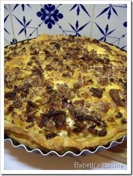 tarte aux andouillettes