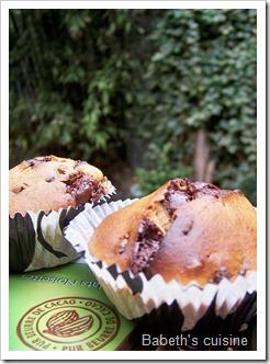 muffins chocolat noisettes raisins secs3