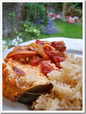rôti saumon saint jacques à la tomate 2