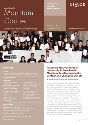 Asia-Pacific Mountain Courier: Special issue on youth and climate change (2010)