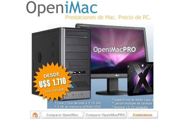 Open iMac PRO