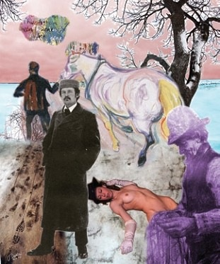 Bedri Baykam, Voyage dans l'inconnu, 2010