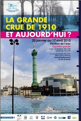 Exposition La Grande crue de 1910 et aujourd'hui ?