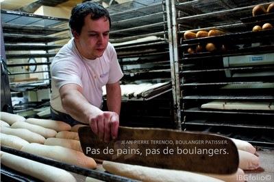 Photo: Jean-Pierre Terencio, Boulanger Patissier. Photographe Idriss Bigou-Gilles
