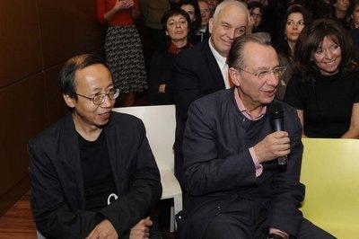 Photo de Huang Yong Ping, Dennys Zacharopoulos et Jean Hubert Martin