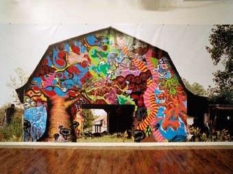 Barnstormers, Billboards/Barn @H&M Gallery, NY 2003
