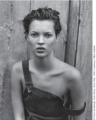 PETER LINDBERGH. Kate Moss, New York, 1994