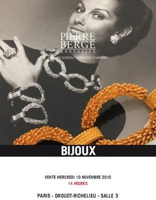 Couverture du catalogue de Pierre Bergé et associés